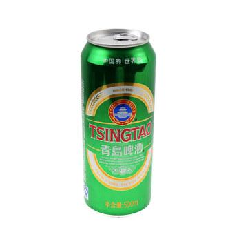 青岛山水经典啤酒 500ml/罐