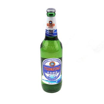 青岛7度欢动啤酒 600ml/瓶